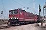 """LEW 16342 - DR """"250 082-5"""" 12.05.1988 - Waren (Müritz), BetriebswerkMichael Uhren"""