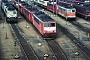 """LEW 16343 - DB AG """"155 083-9"""" 08.02.1998 - Mannheim, BetriebswerkErnst Lauer"""