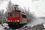 """LEW 16343 - DB Schenker """"155 083-9"""" 19.12.2009 - Lehndorf (Kr Altenburg)Oliver Wadewitz"""