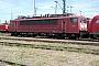 """LEW 16344 - Railion """"155 084-7"""" 30.05.2004 - Mannheim, BetriebswerkErnst Lauer"""