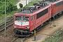 """LEW 16345 - Railion """"155 085-4"""" 12.05.2004 - Mannheim, BetriebswerkErnst Lauer"""