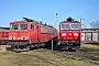 "LEW 16435 - DB Schenker ""155 089-6"" 09.03.2014 - Leipzig-Engelsdorf, BetriebswerkFelix Bochmann"