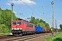 """LEW 16436 - DB Schenker """"155 116-7"""" 04.05.2012 - Leipzig-TheklaOliver Wadewitz"""