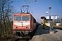 "LEW 16436 - DB Cargo ""155 090-4"" 27.02.2003 - Falkenberg (Elster), oberer BahnhofJens Kunath"