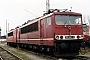 "LEW 16437 - DB AG ""155 091-2"" 14.03.1999 - Wustermark, BetriebswerkOliver Wadewitz"