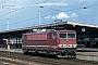 """LEW 16437 - DR """"155 091-2"""" 25.08.1993 - Schönefeld, Bahnhof Flughafen Berlin-SchönefeldIngmar Weidig"""
