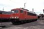 """LEW 16437 - DB Cargo """"155 091-2"""" 22.04.2001 - Bebra, BetriebswerkRalf Lauer"""