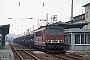 """LEW 16438 - DR """"250 092-4"""" 22.03.1991 - Naumburg (Saale)Ingmar Weidig"""