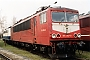 """LEW 16438 - DB AG """"155 092-0"""" 21.03.1999 - Leipzig-Engelsdorf, BetriebswerkOliver Wadewitz"""