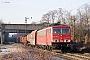 """LEW 16441 - DB Schenker """"155 095-3"""" 17.01.2012 - Bottrop-Welheimer MarkIngmar Weidig"""
