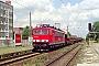 """LEW 16441 - DB Cargo """"155 095-3"""" 20.07.2001 - Dessau, Bahnhof SüdHeiko Müller"""