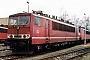 """LEW 16446 - DB AG """"155 100-1"""" 30.01.1999 - Leipzig-Engelsdorf, BetriebswerkOliver Wadewitz"""