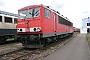 """LEW 16447 - Railion """"155 101-9"""" 04.07.2004 - Mannheim, BetriebswerkErnst Lauer"""