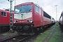 """LEW 16448 - DB Cargo """"155 102-7"""" 26.11.2000 - Mannheim, BetriebswerkErnst Lauer"""