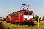 "LEW 16448 - DB Cargo ""155 102-7"" 24.08.1999 - Leipzig-Engelsdorf, BetriebswerkOliver Wadewitz"