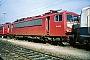"""LEW 16451 - DB AG """"155 105-0"""" 28.09.1997 - Mannheim, BetriebswerkErnst Lauer"""