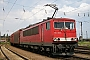 """LEW 16451 - DB Schenker """"155 105-0"""" 30.06.2009 - Halle (Saale), GüterbahnhofArchiv www.br143.de"""