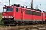 """LEW 16453 - DB Schenker """"155 107-6"""" 27.05.2009 - Magdeburg-Rothensee, BahnbetriebswerkStefan Sachs"""