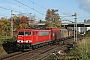"""LEW 16453 - DB Schenker """"155 107-6"""" 28.10.2012 - Walheim (Neckar)Sören Hagenlocher"""