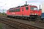 """LEW 16455 - Railion """"155 109-2"""" 17.10.2004 - Mainz-Bischofsheim, BetriebswerkRalf Lauer"""
