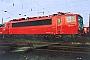 """LEW 16457 - DB AG """"155 111-8"""" 13.01.1996 - Mannheim, BetriebswerkErnst Lauer"""