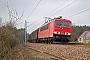 """LEW 16457 - DB Schenker """"155 111-8"""" 02.03.2012 - GömnigkRudi Lautenbach"""