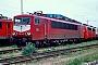 """LEW 16705 - DB Cargo """"155 114-2"""" 23.04.2000 - Mannheim, BetriebswerkErnst Lauer"""