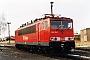 """LEW 16707 - DB AG """"155 116-7"""" 31.01.1999 - Leipzig-Engelsdorf, BetriebswerkOliver Wadewitz"""
