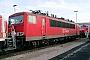 """LEW 16707 - Railion """"155 116-7"""" 31.12.2003 - Mannheim, BetriebswerkErnst Lauer"""