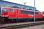 """LEW 16710 - DB AG """"155 119-1"""" 16.11.1997 - Mannheim, BetriebswerkErnst Lauer"""