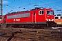 """LEW 16712 - DB AG """"155 121-7"""" 01.02.1998 - Mannheim, BetriebswerkErnst Lauer"""
