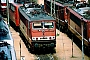 """LEW 16713 - DB AG """"155 122-5"""" 11.06.1995 - Mannheim, BetriebswerkErnst Lauer"""