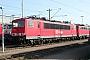 """LEW 16713 - Railion """"155 122-5"""" 19.10.2003 - Mannheim, BetriebswerkErnst Lauer"""