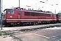 """LEW 16716 - DB AG """"155 125-8"""" 07.08.1995 - Mannheim, BetriebswerkErnst Lauer"""