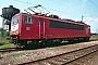 """LEW 16720 - DB AG """"155 129-0"""" 21.05.1995 - Mannheim, BetriebswerkErnst Lauer"""