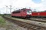"""LEW 16721 - Railion """"155 130-8"""" 06.06.2004 - Mannheim, BetriebswerkErnst Lauer"""