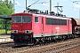 """LEW 16721 - DB Schenker """"155 130-8"""" 27.07.2011 - Berlin-Schönefeld, Bahnhof FlughafenHenk Hartsuiker"""