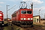 "LEW 16723 - DB Cargo ""155 132-4"" 31.03.2001 - Leipzig-Engelsdorf, BetriebswerkOliver Wadewitz"