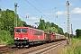 """LEW 16723 - DB Schenker """"155 132-4"""" 29.06.2012 - Leipzig-TheklaOliver Wadewitz"""