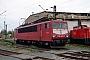 "LEW 16725 - DB Cargo ""155 134-0"" 15.10.2002 - Leipzig-Engelsdorf, BetriebswerkOliver Wadewitz"