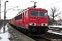 """LEW 16725 - DB Schenker """"155 134-0"""" 19.02.2009 - Dresden-CottaStefan Sachs"""