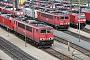 """LEW 16726 - DB Schenker """"155 135-7"""" 20.04.2014 - Mannheim, BetriebswerkErnst Lauer"""