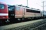 """LEW 16727 - DB AG """"155 136-5"""" 07.03.1996 - Mannheim, BetriebswerkErnst Lauer"""