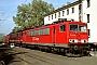"""LEW 16732 - Railion """"155 141-5"""" 19.10.2003 - Köln-Porz, Betriebshof GrembergAndreas Kabelitz"""