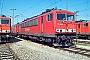 """LEW 16732 - Railion """"155 141-5"""" 28.03.2004 - Mannheim, BetriebswerkErnst Lauer"""