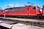 """LEW 16733 - DB Cargo """"155 142-3"""" 16.02.2003 - Mannheim, BetriebswerkErnst Lauer"""