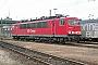 """LEW 16734 - Railion """"155 143-1"""" 07.03.2004 - Mannheim, RangierbahnhofErnst Lauer"""