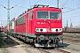 """LEW 16735 - Railion """"155 144-9"""" 28.03.2004 - Mannheim, BetriebswerkErnst Lauer"""
