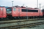 """LEW 16742 - DB AG """"155 151-4"""" 03.03.1996 - Mannheim, BetriebswerkErnst Lauer"""
