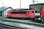 """LEW 16742 - DB Cargo """"155 151-4"""" 22.04.2001 - Bebra, BetriebswerkErnst Lauer"""